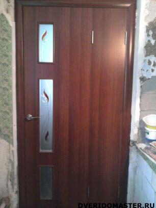 переделка дверей дверь-книжка