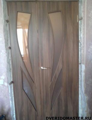 переделка дверей полутерный блок