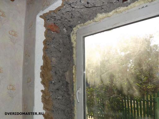 утепление оконных откосов до ремонта
