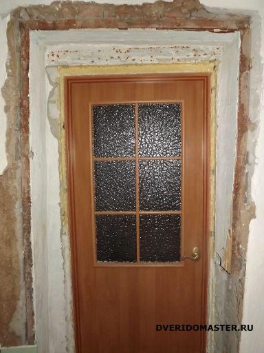 дверные откосы до ремонта