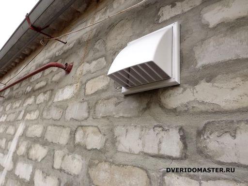Как сделать вытяжку в стене на улицу