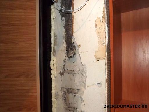 работы в доме удаление откосов
