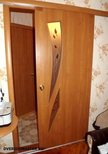 переделка дверей под ролики