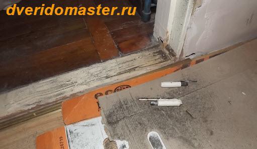 дверь на роликах демонтаж навесов