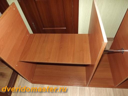 самый простой шкаф для банок.