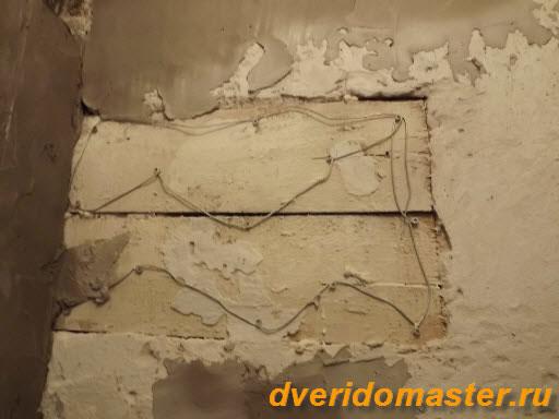 укладка плитки подготовка стен