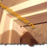 Расчёт  и сборка деревянной коробки двери.