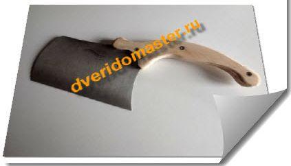 ремонт поломанной рукоятки  ножа