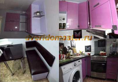 сделать мебель в маленькую кухню