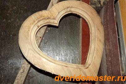 сделать фоторамку из дерева