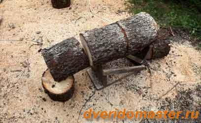 как распиливать дрова