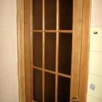 Установка новой двери на отреставрированную коробку