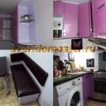 Мебель в маленькой кухне: что можно сделать?