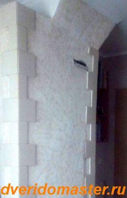 ремонт стен печи